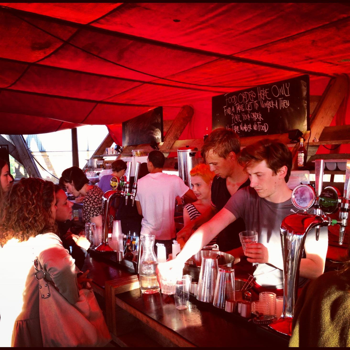Frank S Cafe And Campari Bar London