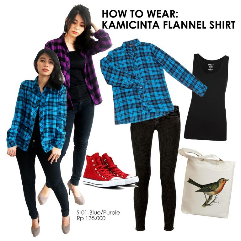 kamicinta blog: Inspiration: How to wear kamicinta flannel ...