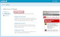 Click en widget de perfil