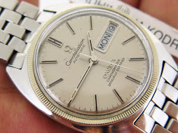 OMEGA CONSTELLATION CHRONOMETER SILVER DIAL C SHAPE - AUTOMATIC CAL 751