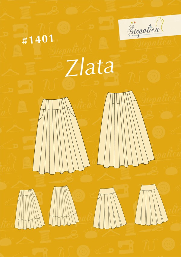 Stepalica: Zlata skirt pattern #1401