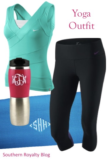 southern royalty  preppy workout outfits