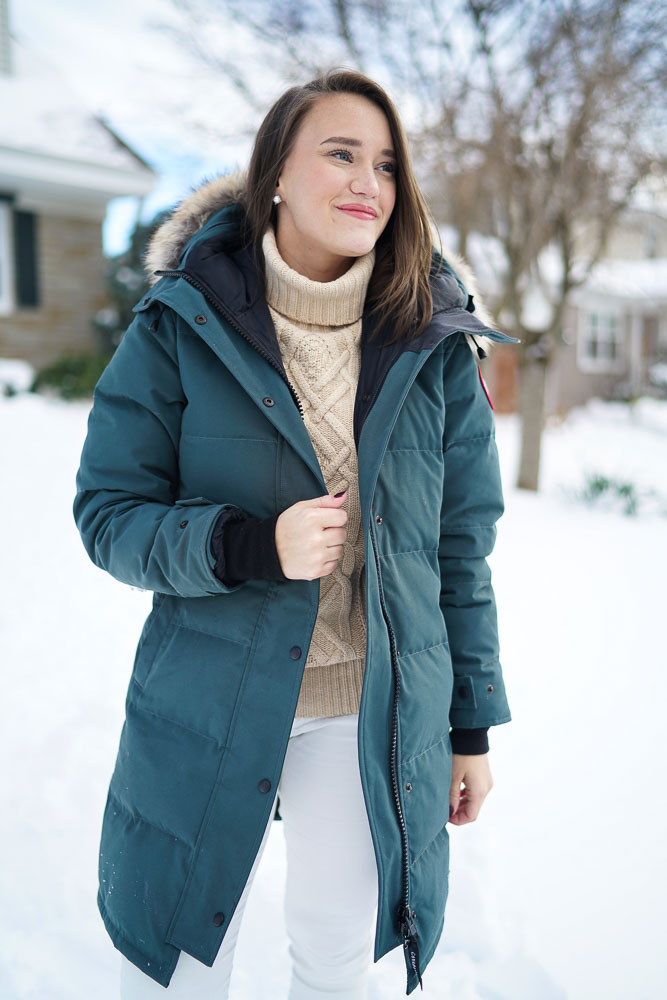 Canada Goose chilliwack parka outlet store - Snow Day in my Canada Goose | Covering the Bases | Fashion and ...