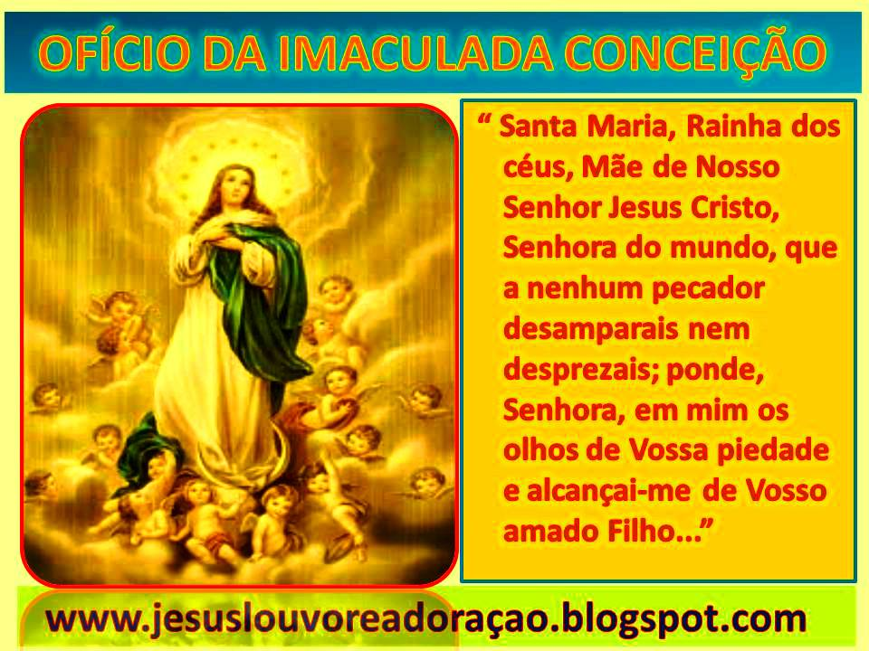 Resultado de imagem para oração da imaculada conceição