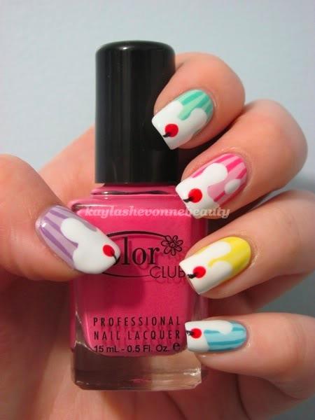yummy nail art ice cream fashionate