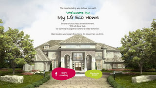 Create your green home with LG and share