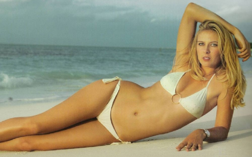 TENNIS PLAYERS WALLPAPERS: Maria Sharapova Bikini Wallpapers