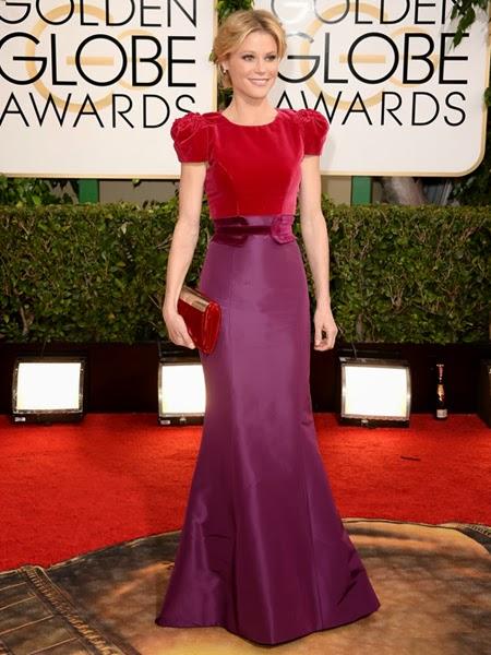 Джули Боуен рокля Златен глобус 2014