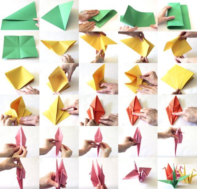 Kraftykym paper crane tutorial - Origami paper tutorial ...
