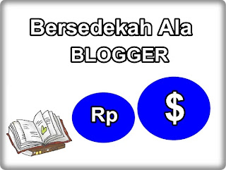 Bersedekah ala blogger