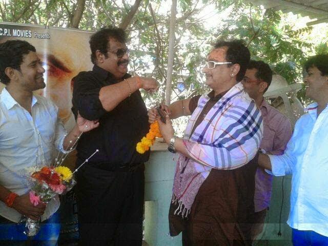 Sujit Tiwari and Awadhesh Mishra at Bhojpuri New Movie 2015 'Mokama 0 KM' Launch