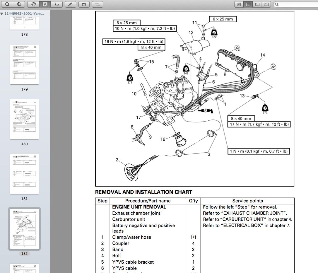 Download Yamaha Xlt800 Repair Manual  Download Yamaha