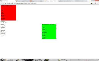 Corat coret anak biasa menambahkan scroll di layer div - Div overflow auto ...