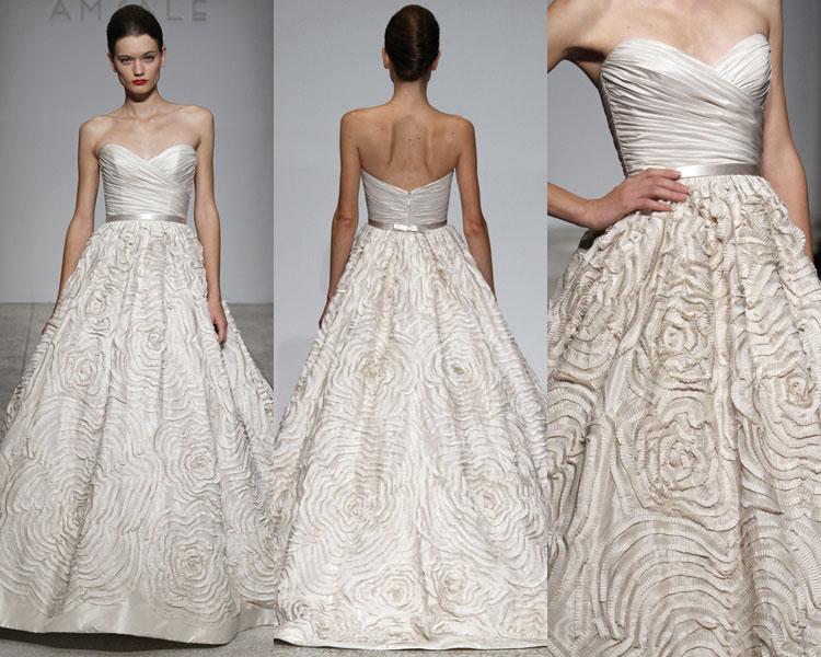 Designer Brautkleider Blog: Amsale Brautkleider Brautmode