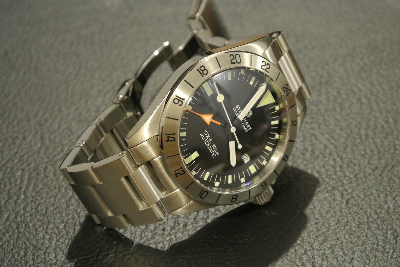 Do Rolex Tick >> The Rogue Review: Poor Man's 1655 - Steinhart Ocean Vintage GMT