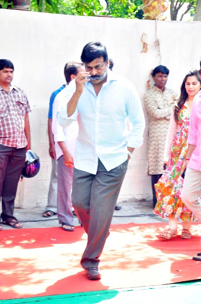 Ram Charan - Koratala Siva movie opening stills- set 4