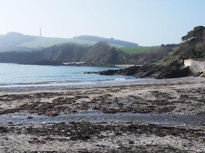 Polridmouth beach Cornwall