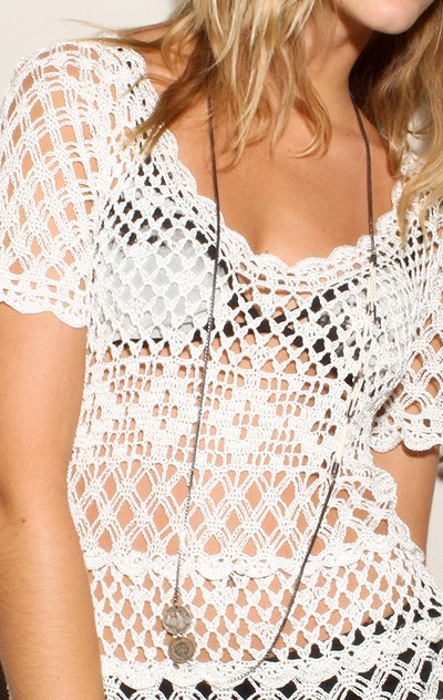Crochet Top Pattern : Outstanding Crochet: Beauty & The Beach. Crochet Top.