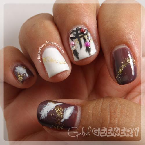 Gelish Dreamcatcher Manicure