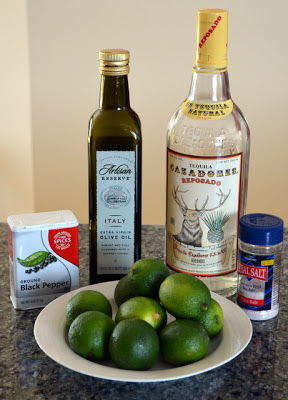 Tequila Lime Chicken marinade ingredients