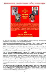 EL REVISIONISMO Y EL OPORTUNISMO POLÍTICO EN EL ECUADOR