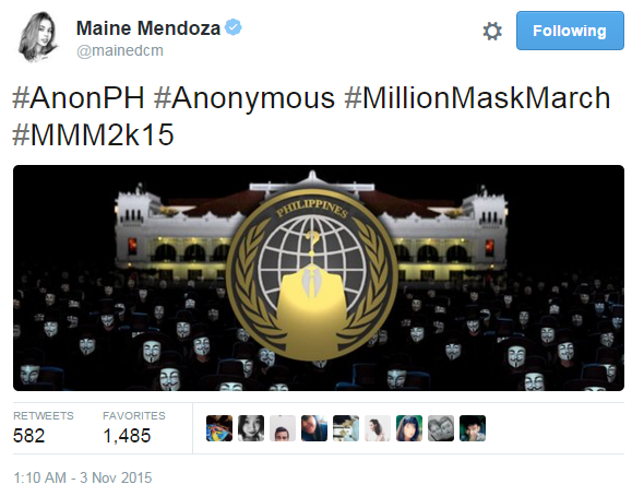 Maine Mendoza Twitter Account Hacked