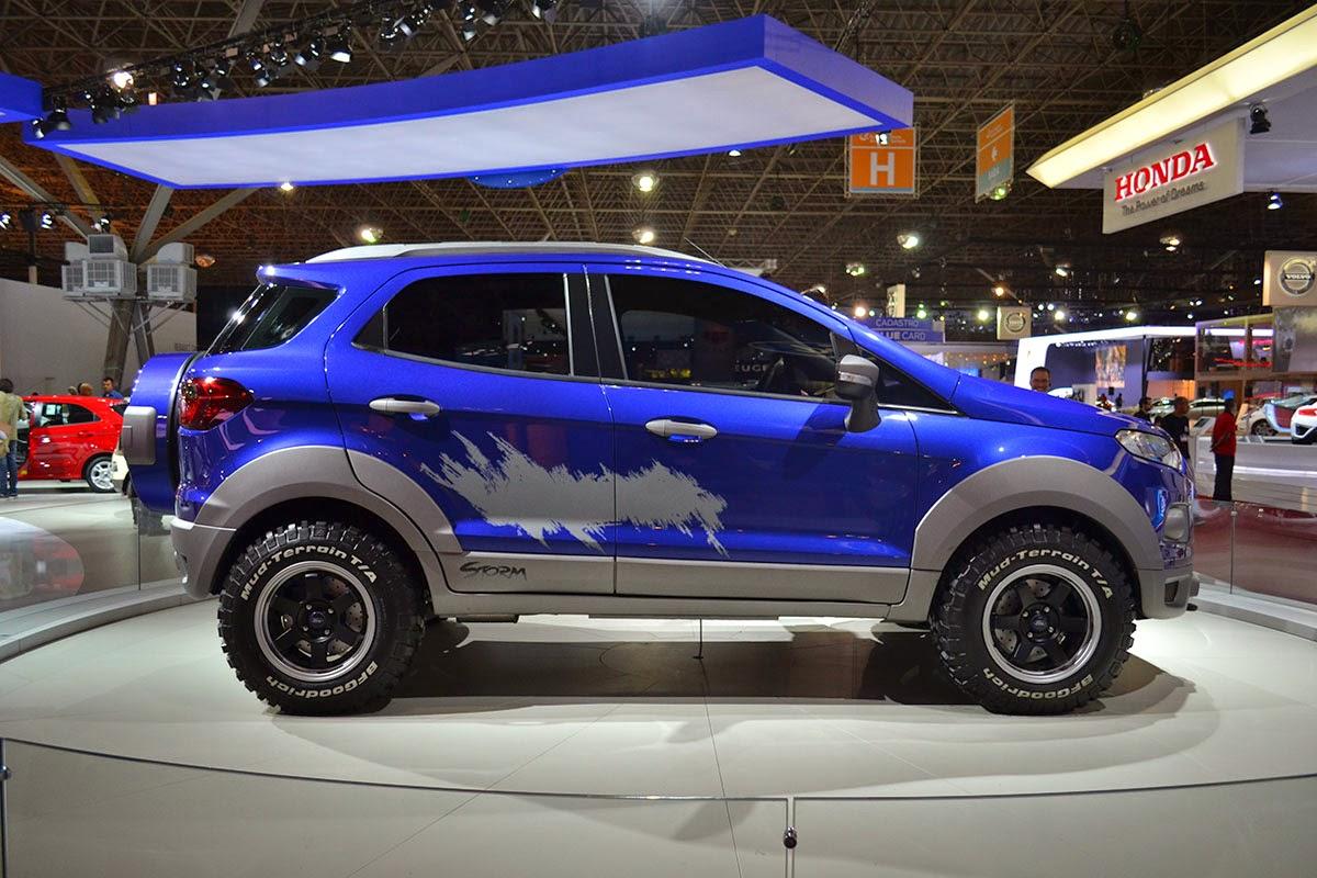 Ford Apresenta Conceitos Ecosport Storm Beast E Beauty