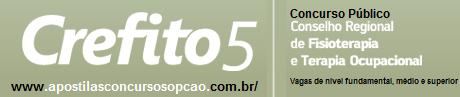 Apostila Concurso Crefito 5 RS (2016) Auxiliar Administrativo.
