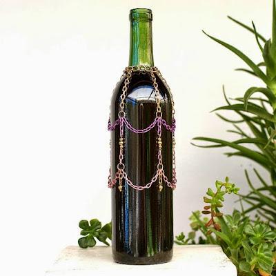 reciclar garrafas de vinho