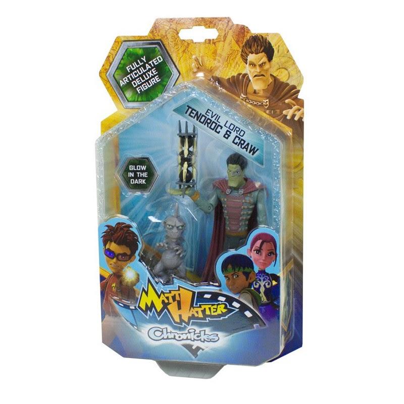 JUGUETES - Matt Hatter Chronicles  Evil Lord Tenoroc & Craw | Figura - Muñeco  Producto Oficial | Simba