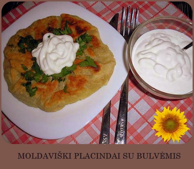 MOLDAVIŠKI PLACINDAI SU BULVĖMIS