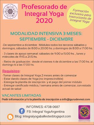 profesorado 2020