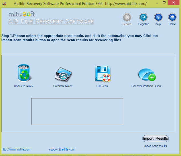 Aidfile Recovery Software Professional 3.6.8.6 Full Keygen