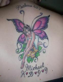 Butterfly Tattoo  Women-3