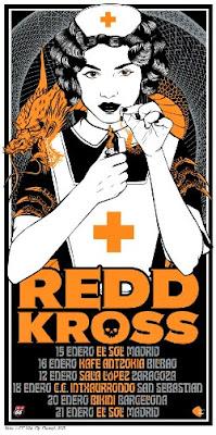 Gira por España de Redd Kross