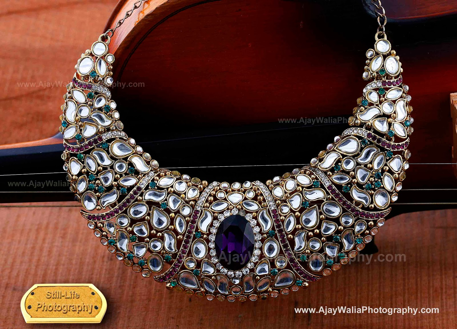 Jewellery Photography for Advertising By Ajay Walia Photography