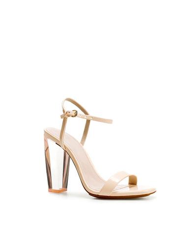 Block Heel Lace Up Shoes Women