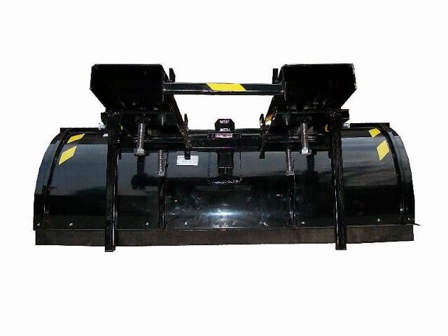 pług do wózka widłowego, pług do widlaka, odśnieżarka do wózka widłowego, pojemnik na piasek do wózka widłowego