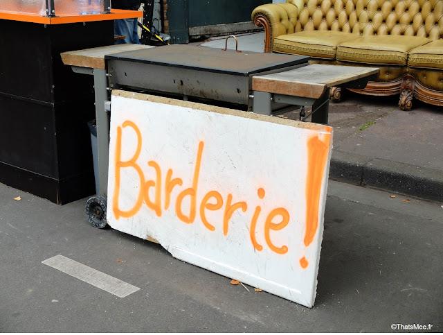 Bar Braderie de LiIle 2014 et 2015 Champs de Mars La Deule brocante braderie Lille ThatsMee.fr