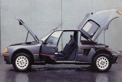 coches de los 80 peugeot 205 especial