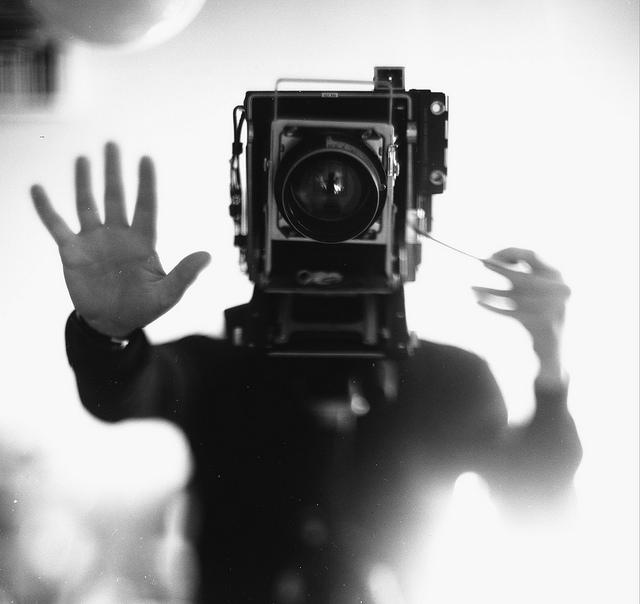 Человек-фотоаппарат