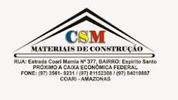 CSM MATERIAIS DE CONSTRUÇÃO