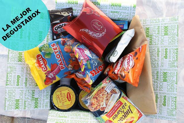 caja mensual degustabox 2015