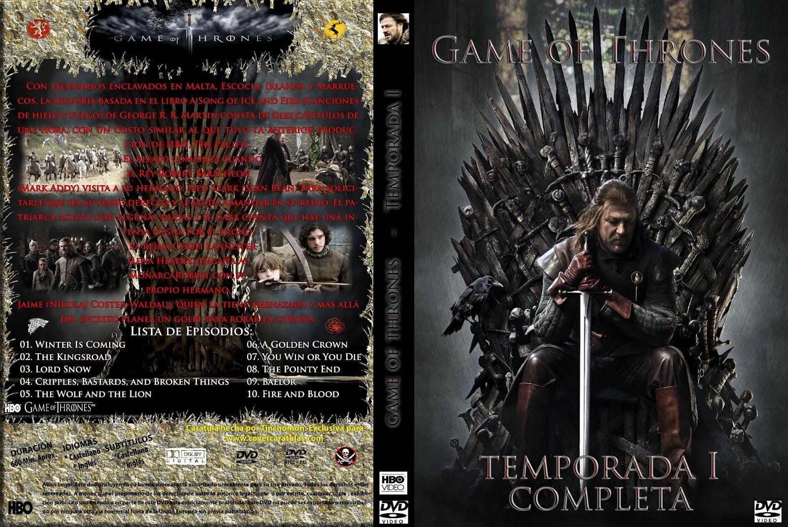 descargar temporada 1 juego de tronos