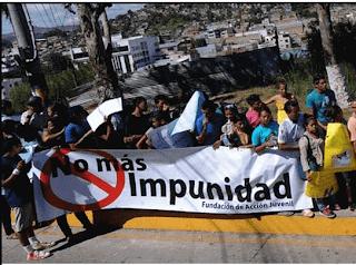 No mas impunidad