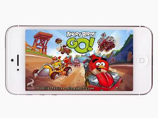 Angry Birds Go main screen shot
