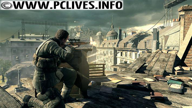 Sniper Elite V2 snipershot wallpaper