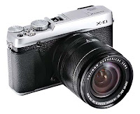 Fujifilm X-E1 Mirror-less body + lens