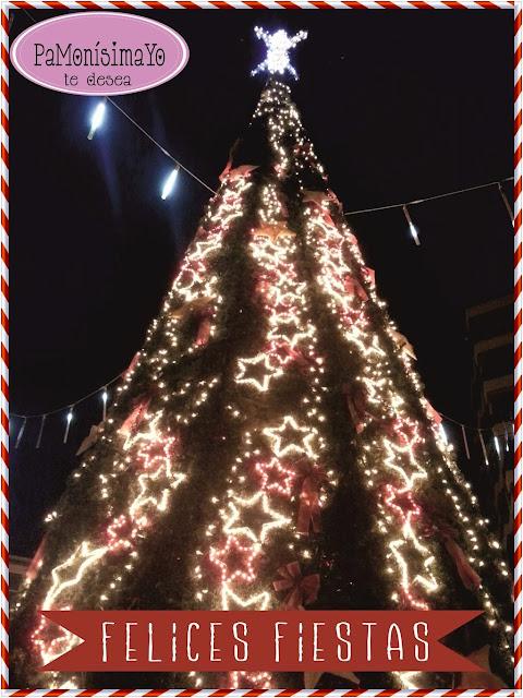 El Campello Felicitación navideña árbol @pamonisimayo
