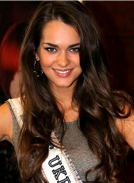 Miss Universe 2011 Olesya Stefanko from Ukraine